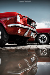 Red Pony (Dejan Marinkovic Photography) Tags: ford mustang pony american classic muscle car red reflection