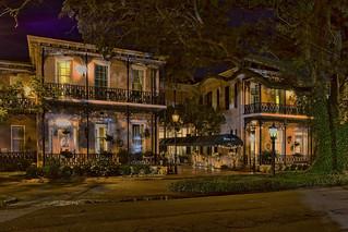 Malaga Inn, 359 Church Street, Mobile, Alabama, USA / Built: 1862 / Floors (above ground): 3 / Floors (below ground) 1