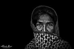Shadow of sorrows... (designer2alok) Tags: woman tea garden bangladesh sylhet sreemangal srimongol shadow