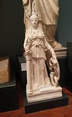 Athena mini-me (qatsi) Tags: oxford museum statue cast