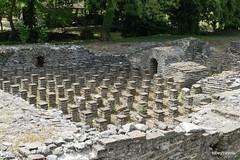 Great Baths, Dion (1).JPG (tobeytravels) Tags: alexanderthegreat alexander3rd macedon macedonia thucydides brasidas orpheus hellenistic cranicos leake thermalbaths hypocaust 2ndcenturybc mosaic asclepios thermae