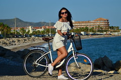 Anastasiia (denis.nayk) Tags: white dress nice cute beach sea ocean