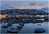 Sunset over Brixham Harbour (simondayuk) Tags: brixham devon torbay harbour coast coastal sunset dusk sky night nightlights reflection reflections boat boats sailing yacht yachts nikon d500 seascape landscape sea water still
