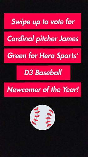 Vote for Cardinal pitcher