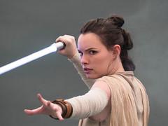 Rey from Star Wars the Force Awakens (mpresa73) Tags: cosplay cosplayer starwars rey reycosplay olympus portrait movie jedi