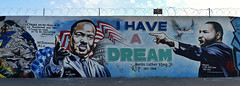 I Have a Dream (HBA_JIJO) Tags: streetart urban graffiti paris art france hbajijo wall mur painting peinture message celebrity spray people urbain cetra armcrew black martinlutherking paroles portait setra ctra mots parole