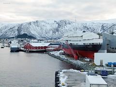 """""""Vågan"""" (OlafHorsevik) Tags: torghattennord thn ferge ferga ferry ferja ferje"""