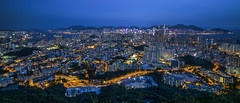 Beacon Hill (Raymond.Ling.43) Tags: sony a7rii summer may kowloon 筆架山 beaconhill 獅子山郊野公園 龍欣道 nightscene 219 panorama