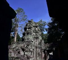 Та Пром (Oleg Nomad) Tags: камбоджа сиемрип храм тапром ангкор кхмеры азия cambodia angkor taprohm khmer tree wall asia travel temple
