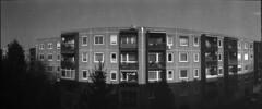 panel feeling (Arpadkoos) Tags: panelfeeling blackwhite blackandwhite budapest fortepan horizont kmz windows panel block