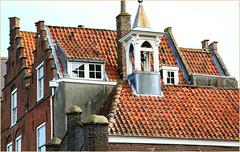 Maisons à Veere, Walcheren, Zeelande, Nederland (claude lina) Tags: claudelina nederland paysbas hollande zeeland zélande veere maisons houses