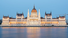 The Parliament Building (McQuaide Photography) Tags: budapest hungary magyarország europe sony a7riii ilce7rm3 alpha mirrorless 24105mm sonyfe24105mmf4g fullframe mcquaidephotography lightroom adobe photoshop tripod manfrotto city urban lowlight bluehour dusk twilight outdoor outside building longexposure cityscape landmark pest capitalcity capital architecture structure river danube hungarianparliamentbuilding parliament országház parliamentofbudapest gothicrevival neogothic facade water reflection