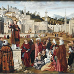 CARPACCIO Vittore,1514 - La Prédication de Saint Etienne à Jérusalem (Louvre) - 0 thumbnail