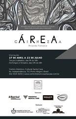 Convite exposição ÁREA CINZA (Ricardo FVF) Tags: área cinza ricardo fonseca exposição chc santa casa