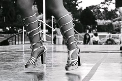 Samba Heels (勇 YoungAdventure) Tags: flickrfriday lowangle basangle sambaxe goldengatepark samba dance san francisco サンフランシスコ 샌프란 시스코 舊金山 nikonnikkorpc105mmf25 nikkor105mmf25 ângulobaixo ángulobajo kleinerwinkel 低角度