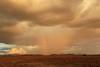 Sunset, rain and rainbow in the desert - Palmwag - Namibia (lotusblancphotography) Tags: africa afrique namibia namibie desert désert sky ciel nuages clouds arcenciel rainbow rain pluie sunset coucherdesoleil