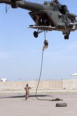 180425-A-SB930-333 (U.S. Department of Defense Current Photos) Tags: sojtfoir2018 cjtfoir2018 sof socom centcom specialoperations adviseassist bywiththrough oiroperationinherentresolve iraq baghdad cts counterterrorismservice iraqisof isof iraqispecialoperationsforces fastroping helicopter training iq