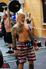"Crossborder throwdown2018 - 08b (david ""Djannis"") Tags: intérieur athletic sportive sportif sport crossfit"
