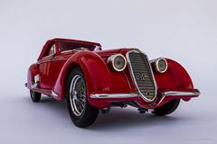 Alfa Romeo (Ken Hendricks and Larry Patchett) Tags: franklinmint 1937 alfaromeo 2900b 124scale diecast model car