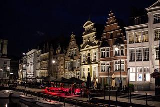 Korenlei, Gent, Belgium