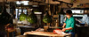 In The Bowels Of Tsukiji (AAcerbo) Tags: 241 widescreen cinematic tsukiji fishmarket sushi knife cutting lights