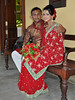 Galle - Just Married (Drriss & Marrionn) Tags: travel srilanka ceylon southasia outdoor seaside tropics coastline galle coast sea city cityscape people couple marriage wedding justmarried portrait man wife reddress jewels jewelry faces smile smiles happiness