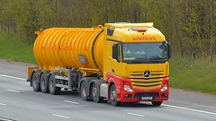 FG13 ZSU (panmanstan) Tags: mercedes actros mp4 wagon truck lorry commercial tanker freight transport haulage vehicle a1m fairburn yorkshire