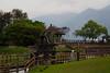 roue et autres (8pl) Tags: roue moulin canal herbe pelouse barrière taïwan chishang toits arbres barrièresenbois bois végétation montagnes nuages eau gouttelettes