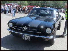 Ford Mustang, 1965 (v8dub) Tags: ford mustang 1965 allemagne deutschland germany niedersachsen debstedt american muscle pkw pony voiture car wagen worldcars auto automobile automotive old oldtimer oldcar klassik classic collector