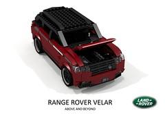 Range Rover Velar - 2018 (lego911) Tags: range rover land velar suc cuv crossover aluminium aluminum wagon luxury offroad premium awd v8 british gb auto car moc model miniland lego lego911 ldd render cad povray