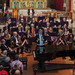 DSCN0038c Conductor John Gibbons introduces the Ealing Symphony Orchestra concert  on 19th May 2018.