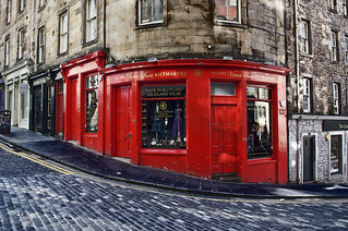 Victoria Street / West Bow, Edimburgo