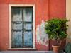 Mediterranean Composition - Genova, Italy (Sebastian Bayer) Tags: mediterran architektur baum bunt zerfall farben geometrie minimalistisch tür historisch genua wand