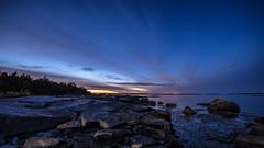 Dawn (tonyguest) Tags: dawn gryning boön karlshamn blekinge sverige sweden sea rocks sunrise tonyguest stockholm cassiopeia night scenic