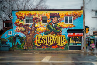 It was a rainy day in Leslieville...