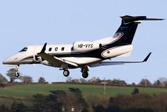 HB-VYS (GH@BHD) Tags: hbvys embraer emb emb505 phenom phenom300 satuaviation bhd egac belfastcityairport bizjet corporate executive aviation aircraft