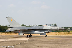 F-16AM FA-114 taxi.jpg (Alfred Koning) Tags: belgië f16fightingfalcon f16am fa114 vliegtuigen