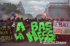 Manifestation à Paris du 1er mai 2018 - 01.05.2018 - Paris (FR) - IMG_3005 (PM Cheung) Tags: loitravail manifestationàparisdu1ermai paris 1mai frankreich proteste mobilisationénorme cgt sncf demonstration manifestationàparisdu1ermai2018 blockaden 2018 demo mengcheungpo gewerkschaftsprotest zad zonéadéfèndre nantes tränengas arbeitsmarktreform nuitdebout pmcheung polizei wasserwerfer crsfacebookcompmcheungphotography polizeipräfektur krawalle ausschreitungen auseinandersetzungen compagniesrépublicainesdesécurite police 1mai2018 01052018 manif manifestation démosphère solidaritéinternationalejusticesocialepaix labac emmanuelmacron larépubliqueenmarche manif1mai fo fsu solidaires unef république1ermai 1ermaiparis nonamarcron 1ermai2018