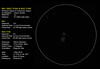 Whirlpool Galaxy & Companion (Odonata457) Tags: m51 ngc5194 ngc5195 whirlpoolgalaxy drawing