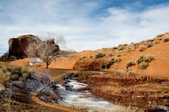 winter in MV 2 (robpolder) Tags: southwest travel monumentvalley navajo