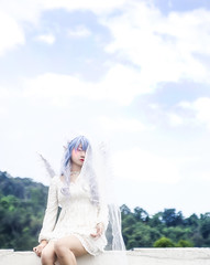 Remilia Scarlet - Tenshi (bdrc) Tags: asdgraphy malaysia kl event selayang mall outdoor day sky remilia scarlet touhou project cosplay angel tenshi vampire tsuyu sei sony sonyimages sonyalpha sonyphotography sonya6000 sonyalphauniverse tamron 2875mm f28 zoom fungus soft girl portrait single solo people