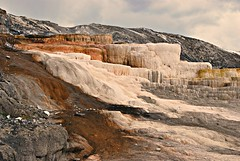 Grand Formations (Eyes Open To Life) Tags: hotsprings thermals yellowstone nature wyoming landscape rocks rocky rockformations
