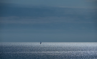Sailing on silver waves