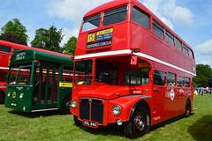 RM1033 DSL940 (PD3.) Tags: aec routemaster london transport rm1033 rm 1033 dsl940 ds l940 33clt 33 clt bus buses festival lorry lorries truck trucks basingstoke hants hampshire england uk thorneycroft