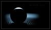 Dark Orb (J Michael Hamon) Tags: lowkey dark ball orb sphere ballbearing steel metal blue black photoborder hamon nikon d3200 nikkor 40mm blackbackground stilllife tabletop closeup macro light lighting shadow round circle mesh screen vignette macromondays