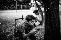 L'ennui (PaxaMik) Tags: boring lennui portraitnoiretblanc black blackandwhitephotos noiretblanc campagne countryside country frenchcountry smartphone portable scène ado teens adolescent