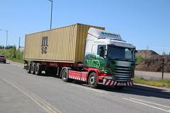 L8030   WILLOW   PO18 OGD (Barrytaxi) Tags: eddie eddiestobart stobart scania gcabs widnes tesco ports