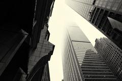 Fog--Liberty St (PAJ880) Tags: fog lower manhattan financial district nyc new york liberty st bw mono urban