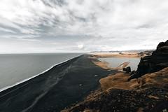 Black Sand Beach - Iceland - (Hadi Al-Sinan Photography) Tags: black sand beach iceland icelandic travel bestshot interesting canon hadi alsinan photography
