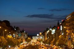 Praha at night  I (Michal Zawolek) Tags: praha prague street streetphotography city cityscape cityscapes cityatnight building buildings night czech